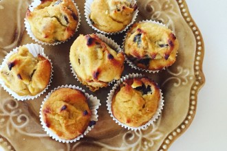 vanille-dadel muffins