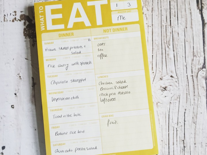 Waar koop je die eetplanner?