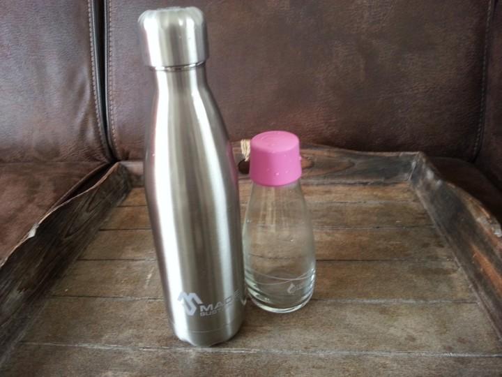 Alternatief voor plastic drinkflesjes