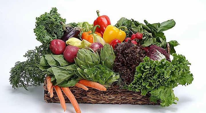 Groente en fruit in augustus