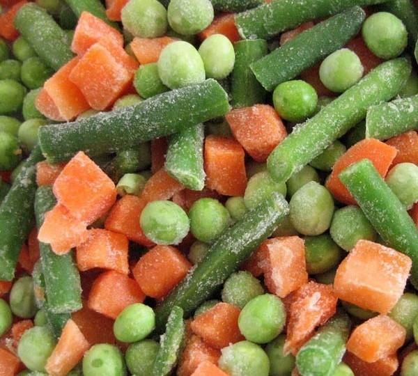 Makkelijk: groente uit de diepvries