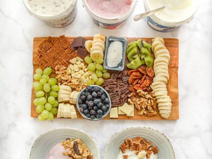 Je eigen yoghurt bar als lekker ontbijtje (of brunch)